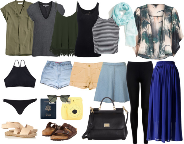 f33f3d43d3a Europe in the Summer  A Packing List to Fashionable Travel – gogomaddie